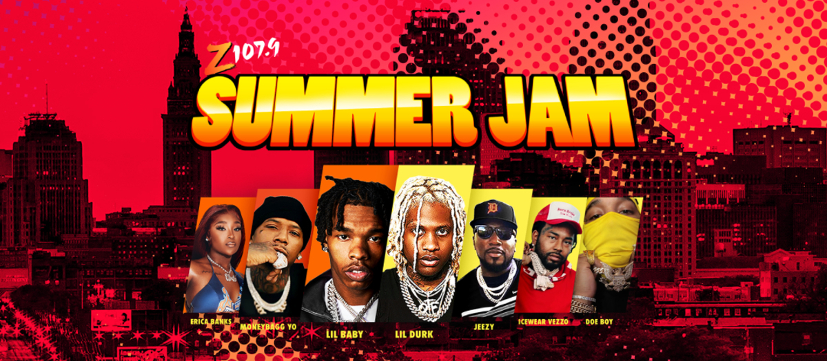 Z107.9 Summer Jam Tickets