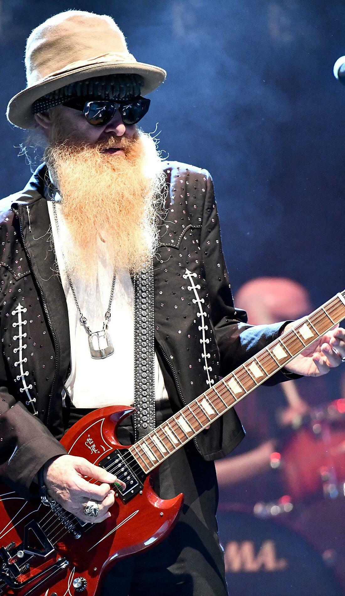 A ZZ Top live event
