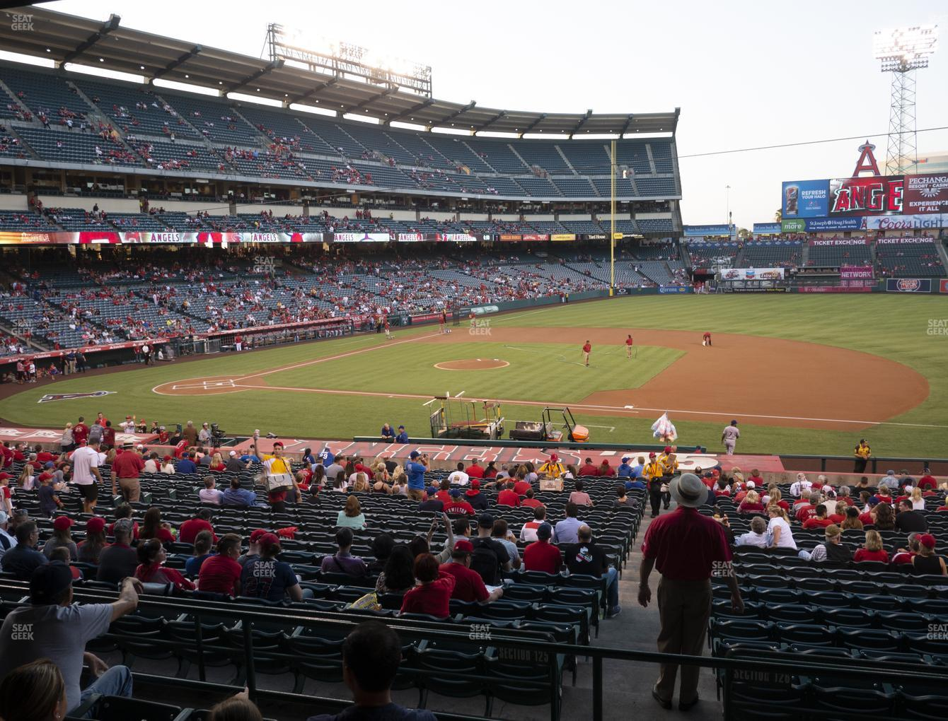 Los Angeles Angels at Angel Stadium of Anaheim Section 224 View