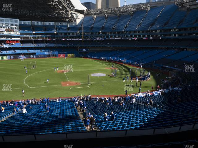 Rogers Centre Section 231 R view