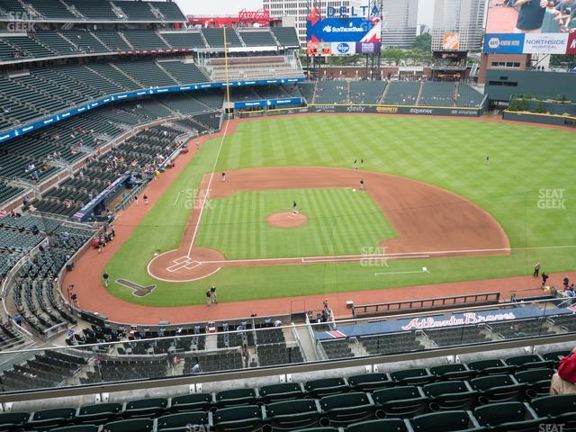 SunTrust Park Section 322 view