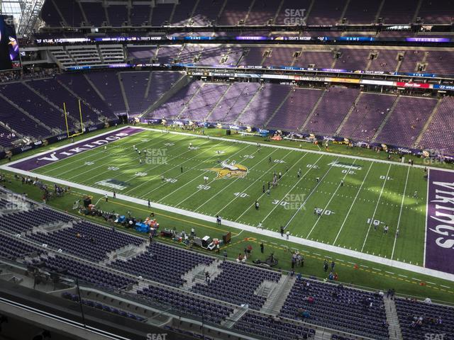 U.S. Bank Stadium Section 337 view