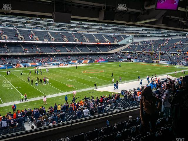 Soldier Field Section 242 view