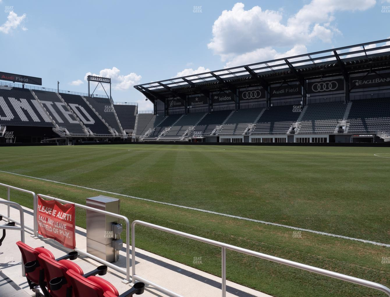 D.C. United at Audi Field Field 3 View