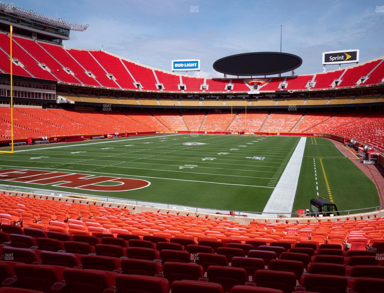 Arrowhead Stadium Section 108 Seat