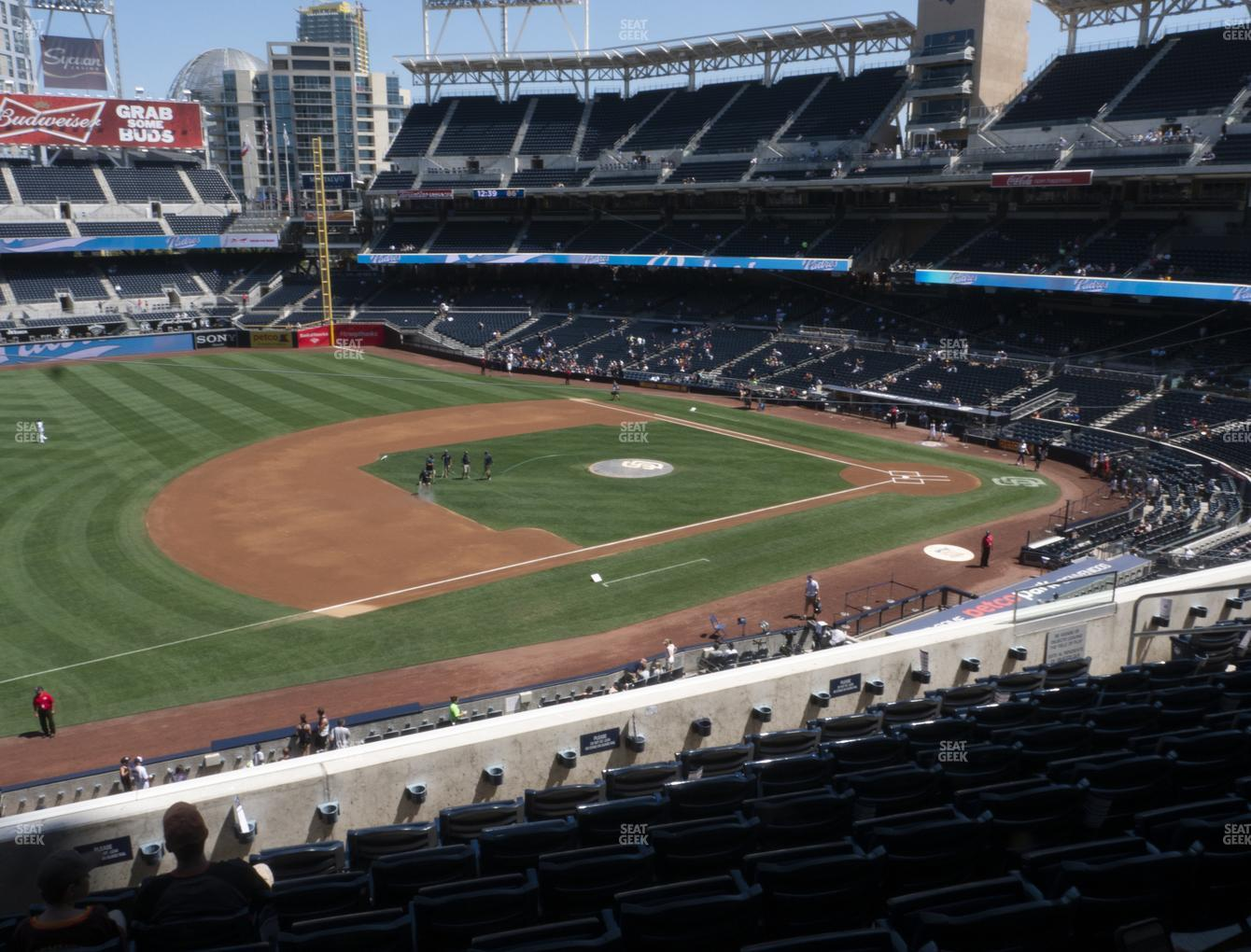 San Diego Padres at Petco Park Section 214 View