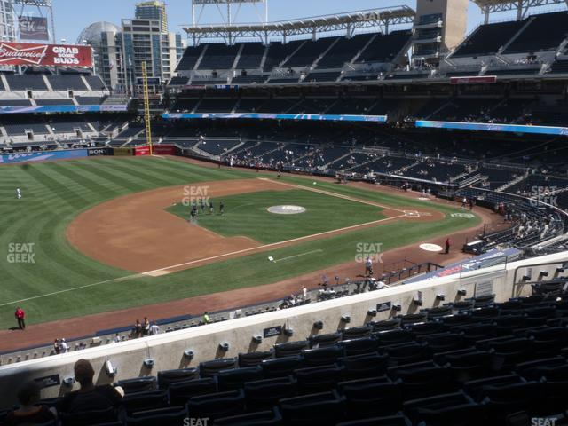 Petco Park Section 214 view