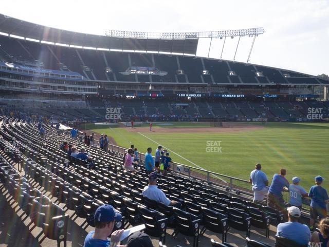 Kauffman Stadium Section 146 view