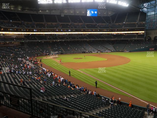 Minute Maid Park Section 233 view