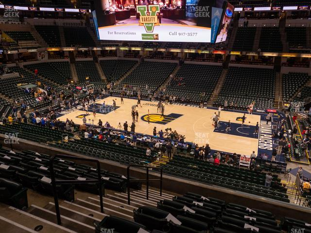 Bankers Life Fieldhouse Section 103 view