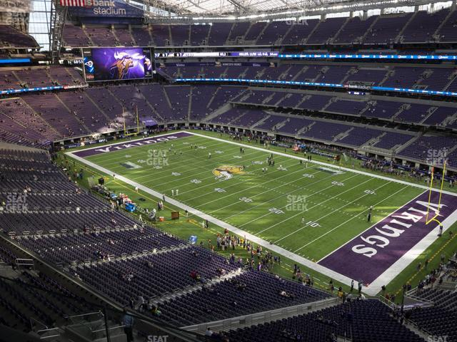 U.S. Bank Stadium Section 306 view