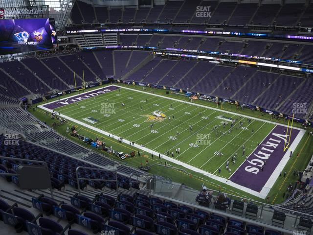 U.S. Bank Stadium Section 336 view