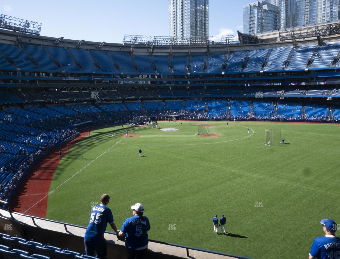 Toronto Blue Jays at Rogers Centre Section 207 R View