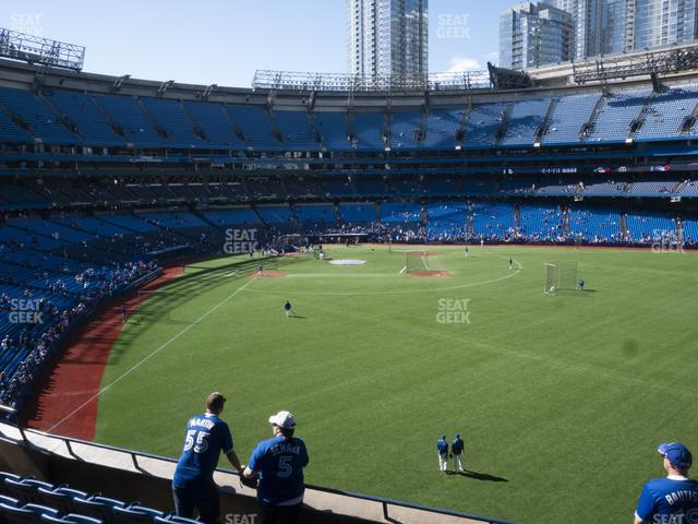 Rogers Centre Section 207 R view