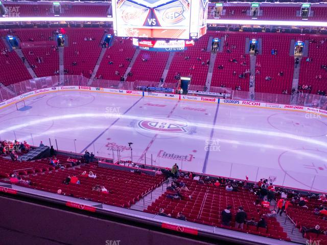 Bell Centre Section 212 view