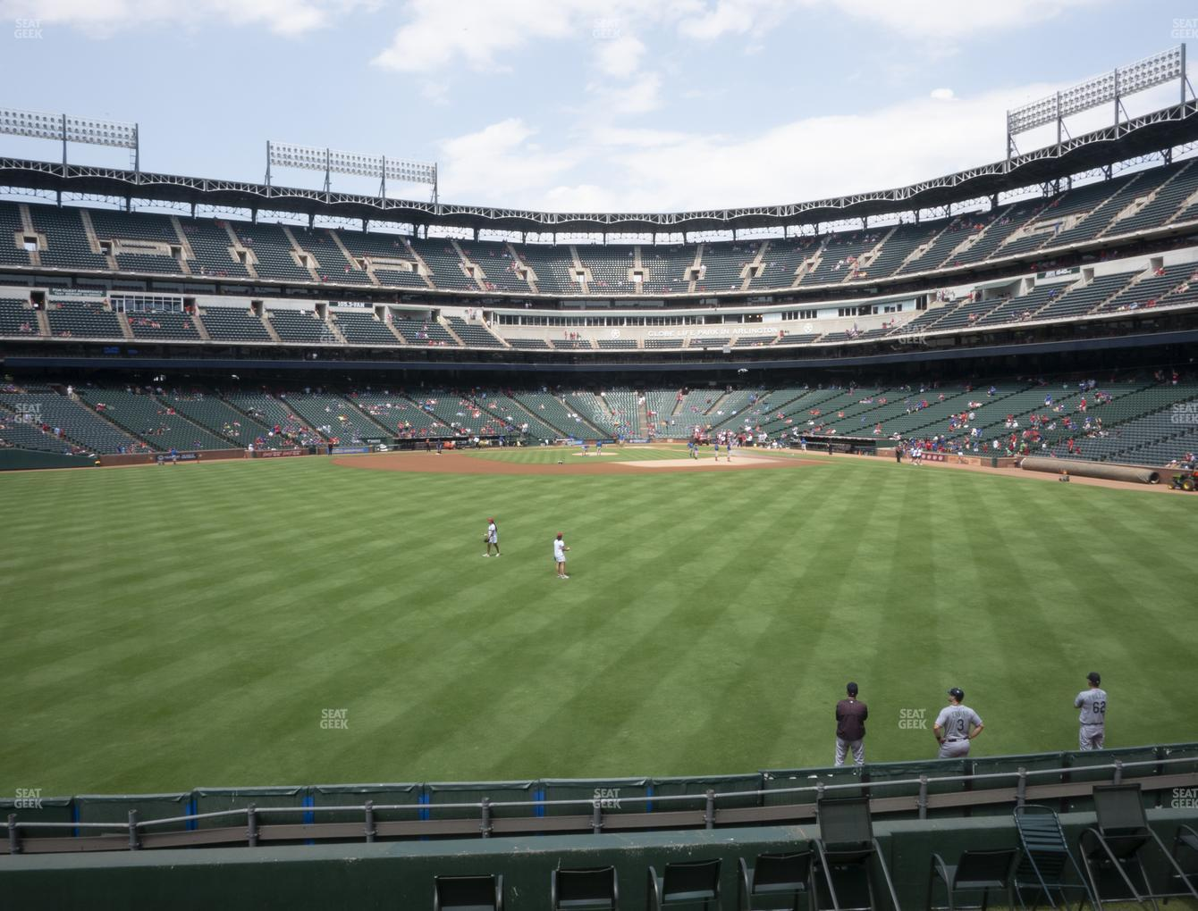 Concert at Globe Life Park Section 54 View