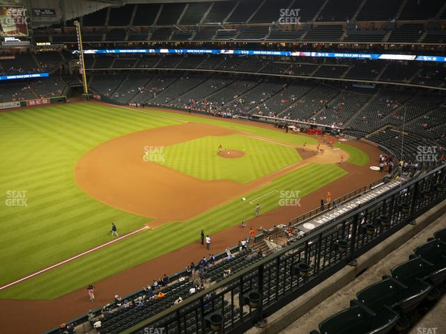 Minute Maid Park Section 309 view