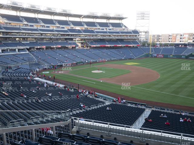 Nationals Park Section 223 view