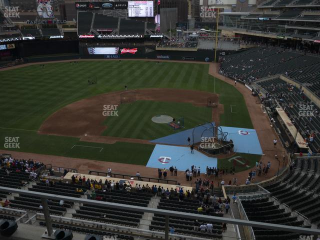 Target Field Section 219 view