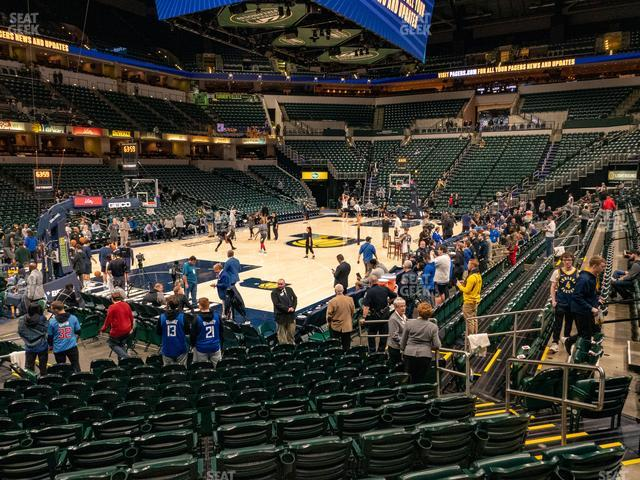 Bankers Life Fieldhouse Section 8 view
