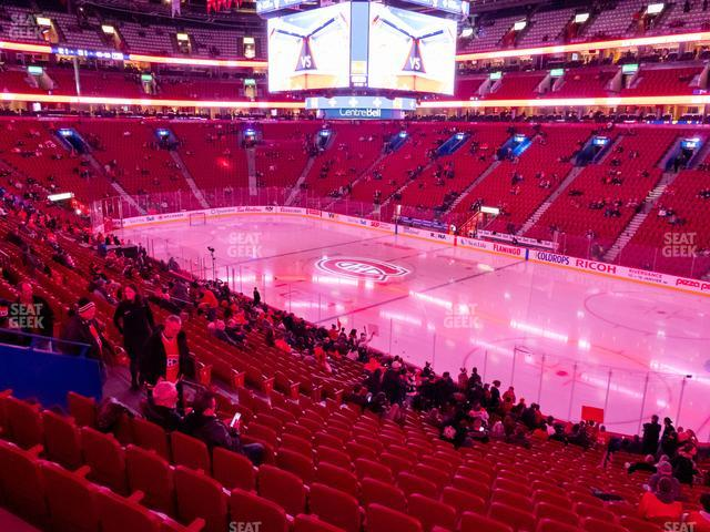 Bell Centre Section 110 view