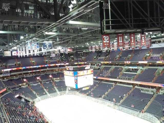 Capital One Arena Section 405 view