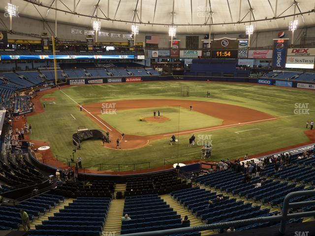 Tropicana Field Section 204 view