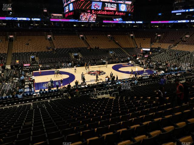Scotiabank Arena Section 120 view