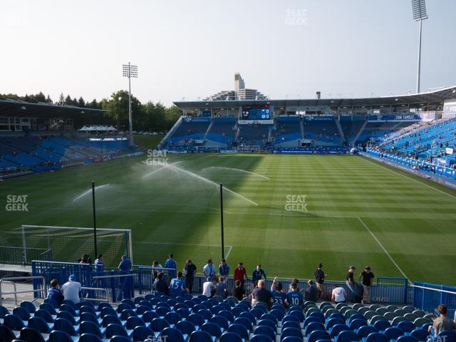 Saputo Stadium 131 GA Supporter view