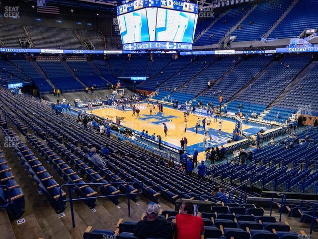 Rupp Arena Section 27 view