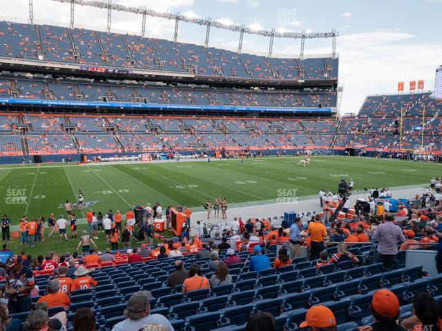Empower Field at Mile High Section 107 view