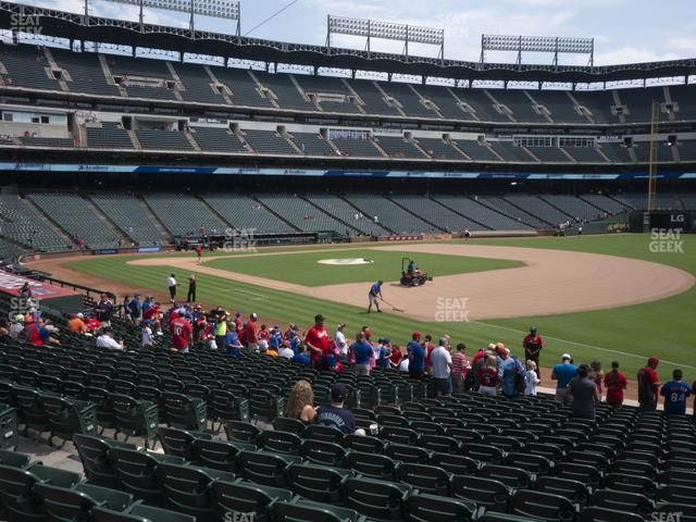 Globe Life Park Section 38 view
