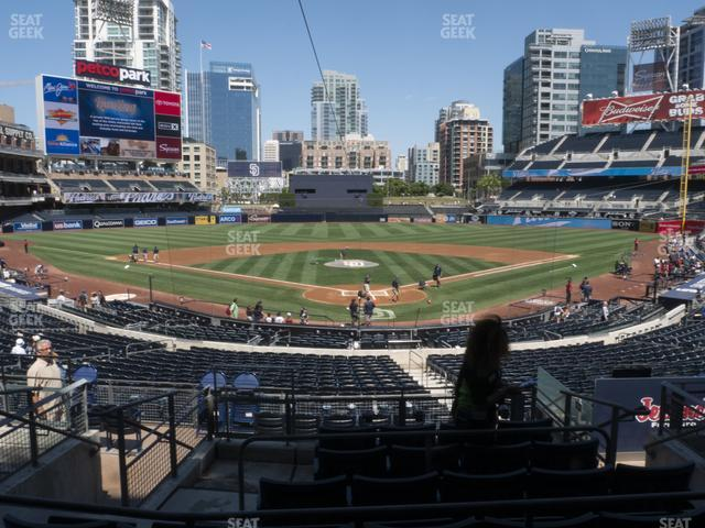 Petco Park Premier Club F view