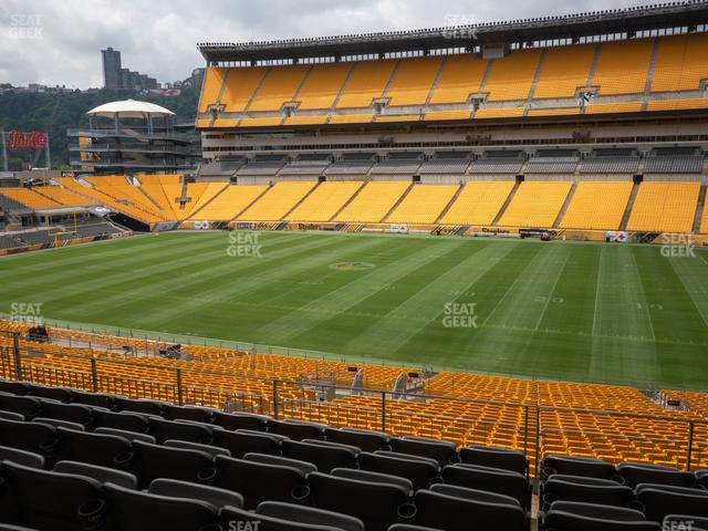Heinz Field Section 213 view