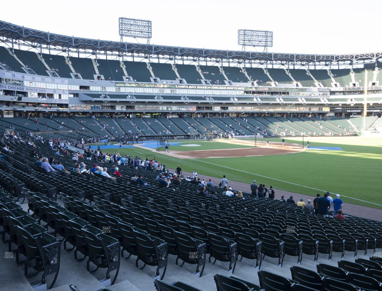 Excellent Guaranteed Rate Field Section 113 Seat Views Seatgeek Onthecornerstone Fun Painted Chair Ideas Images Onthecornerstoneorg