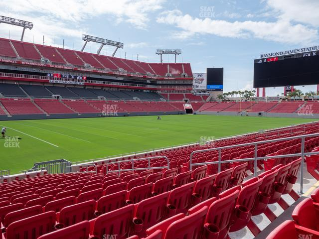 Raymond James Stadium Section 106 view