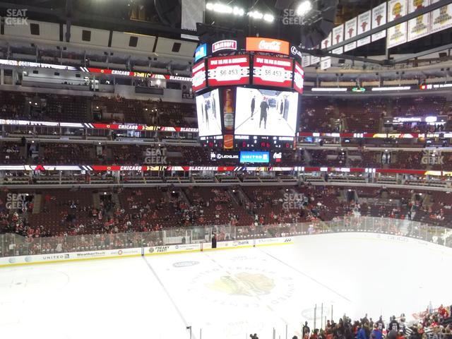 United Center Section 202 view
