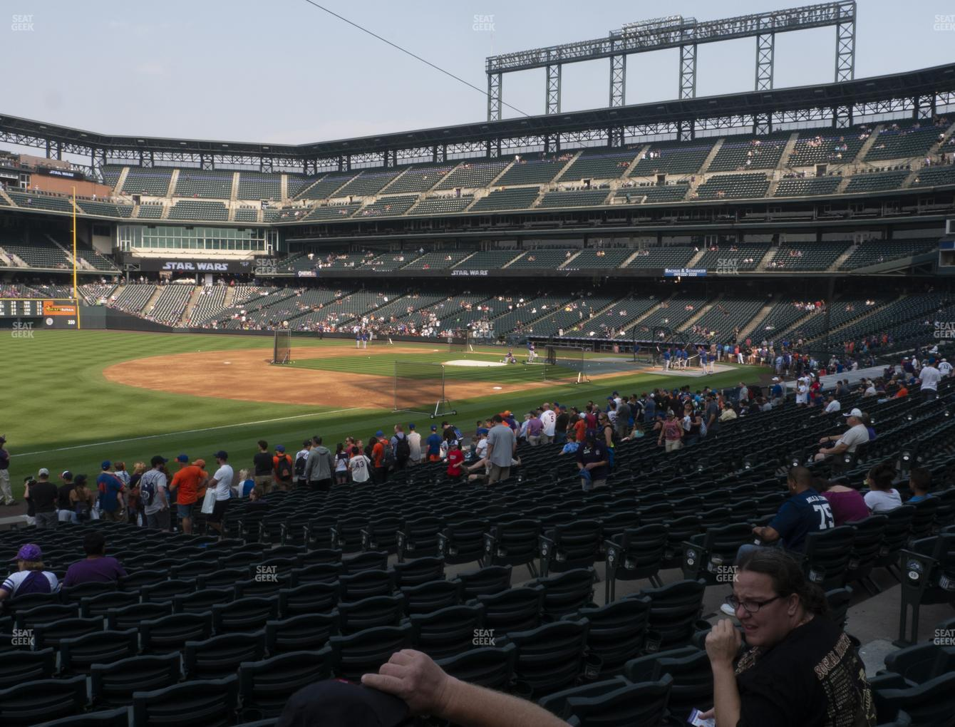 Coors Field Section 144 Seat Views Seatgeek