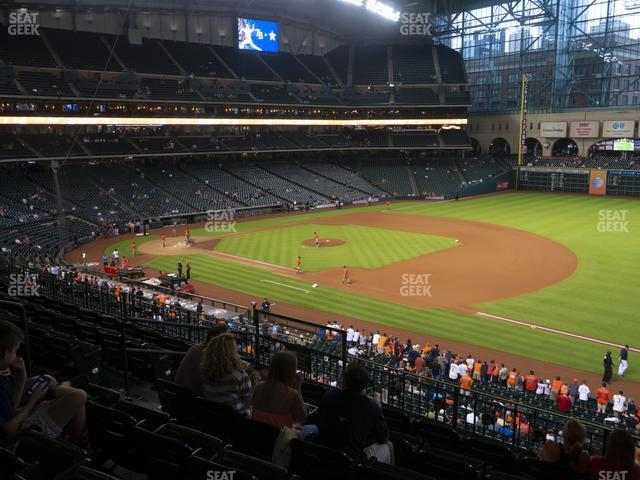 Minute Maid Park Section 229 view