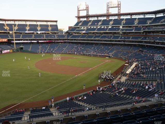 Citizens Bank Park Section 235 view