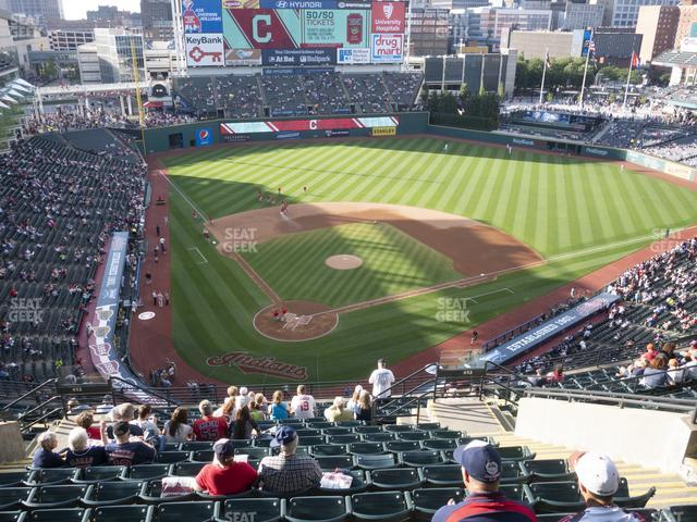 Progressive Field Section 552 view