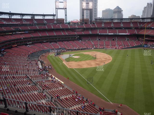 Busch Stadium Right Field Pavilion 332 view
