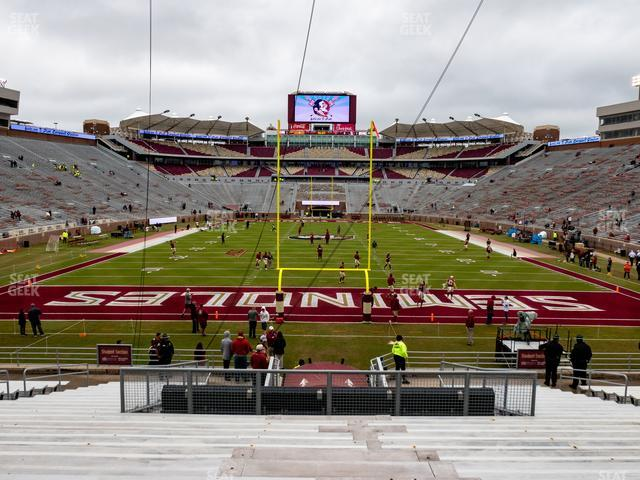 Doak Campbell Stadium Section 1 view