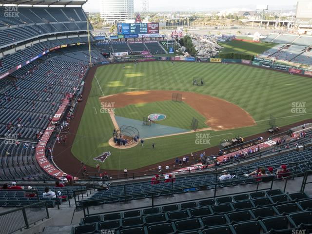 Angel Stadium of Anaheim Section 524 view