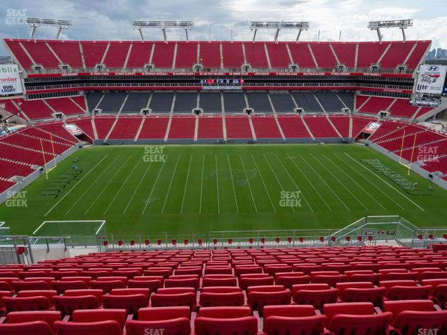 Raymond James Stadium Section 310 view
