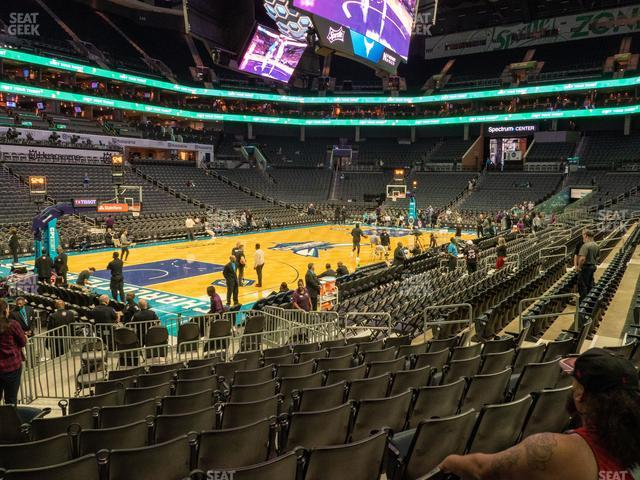 Spectrum Center Section 107 view