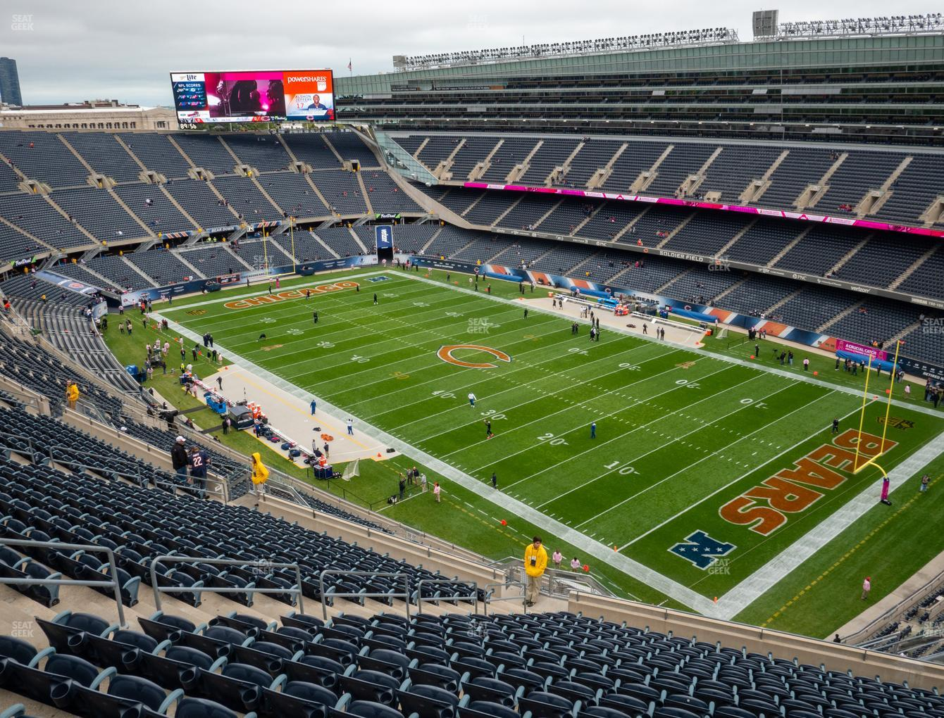 Soldier Field Section 430 Seat Views   SeatGeek