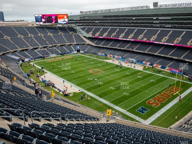 Soldier Field Section 430 view