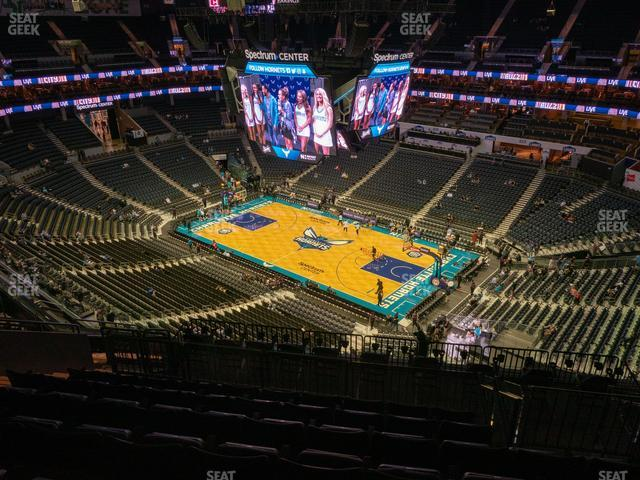 Spectrum Center Section 222 view