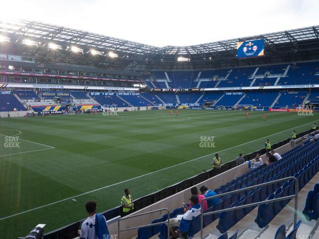 Red Bull Arena Section 130 view
